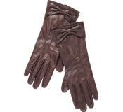 Maison Scotch Washed Leather Gloves