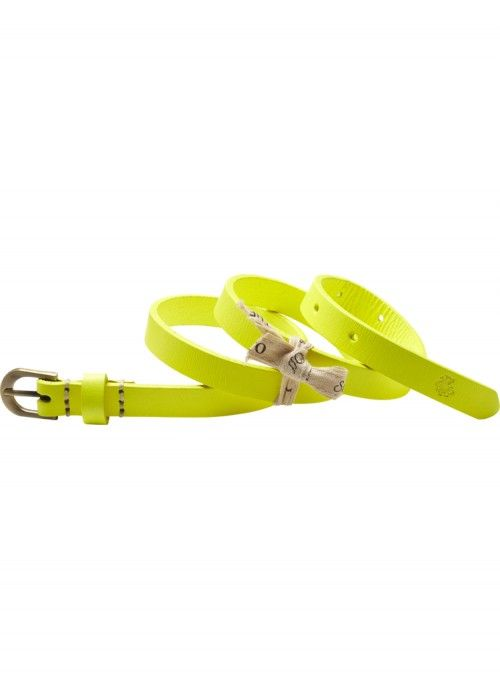 Scotch R'belle Small Neon Leather Belt