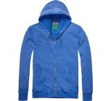 Scotch & Soda Zip Through Hooded Sweat With