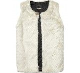 Maison Scotch Faux Fur Longer Gilet