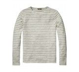Scotch & Soda Slub Inside-out Crewneck Sweat