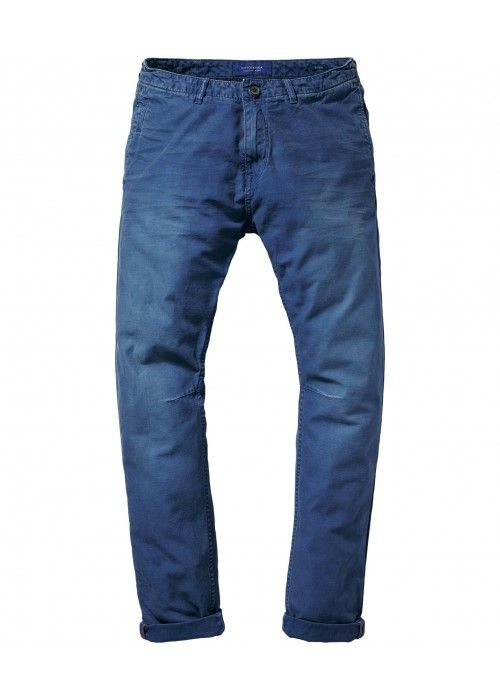 Scotch & Soda Theon Chino - Garment Dye