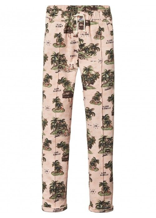 Scotch R'belle All-over printed sweat pants