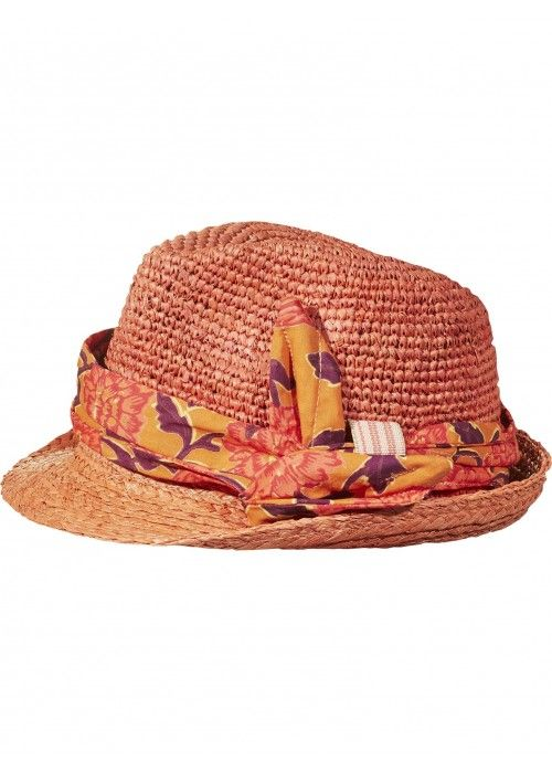 Scotch R'belle 2-in-1 style straw hat with