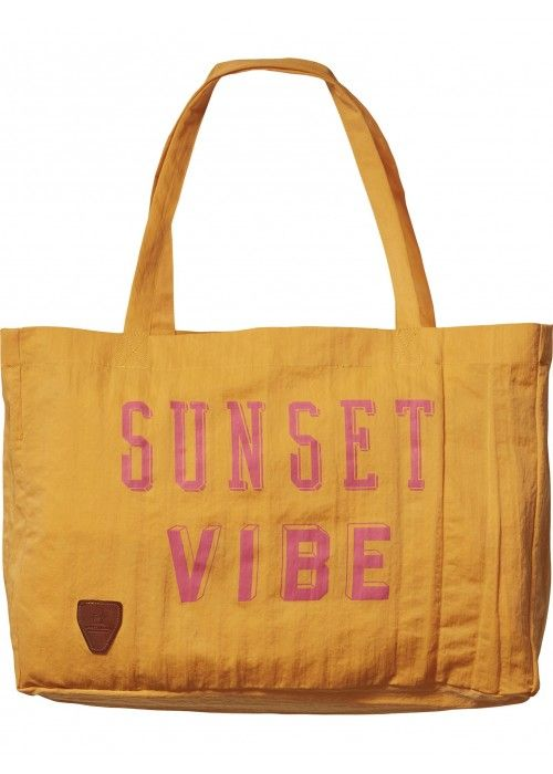 Scotch & Soda Garment dyed nylon beach bag