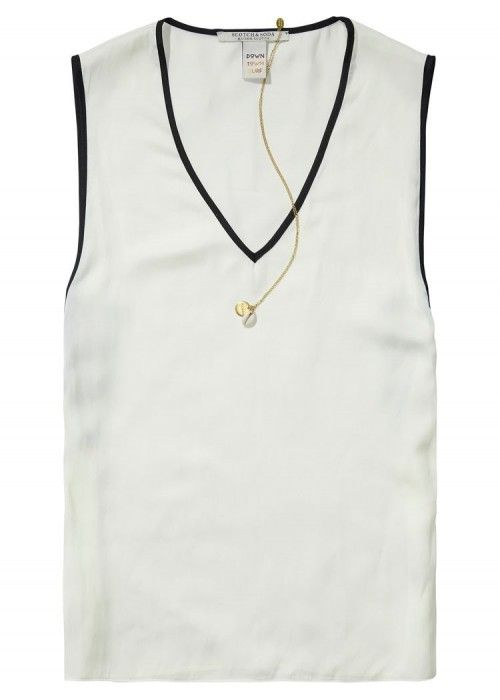 Maison Scotch V-Neck summer Tank