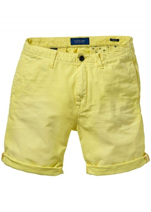 Scotch & Soda Theon Chino Short - Garment Dy