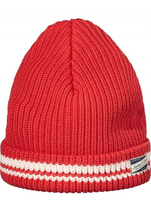 Scotch & Soda AMS Blauw Knitted Beanie Hat