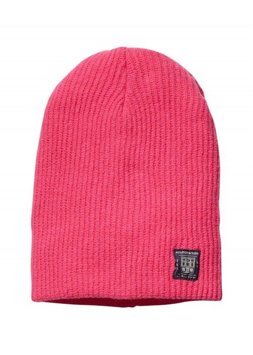 Scotch & Soda Classic double rib knit beanie