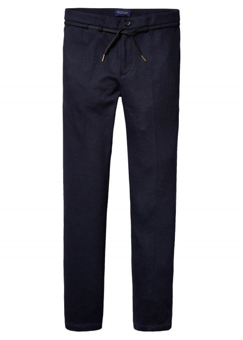 Scotch & Soda Chino in knitted wool quality