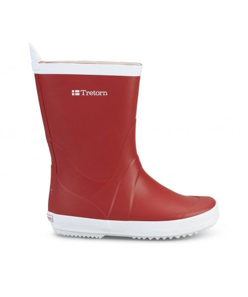 Tretorn Rainboot Red