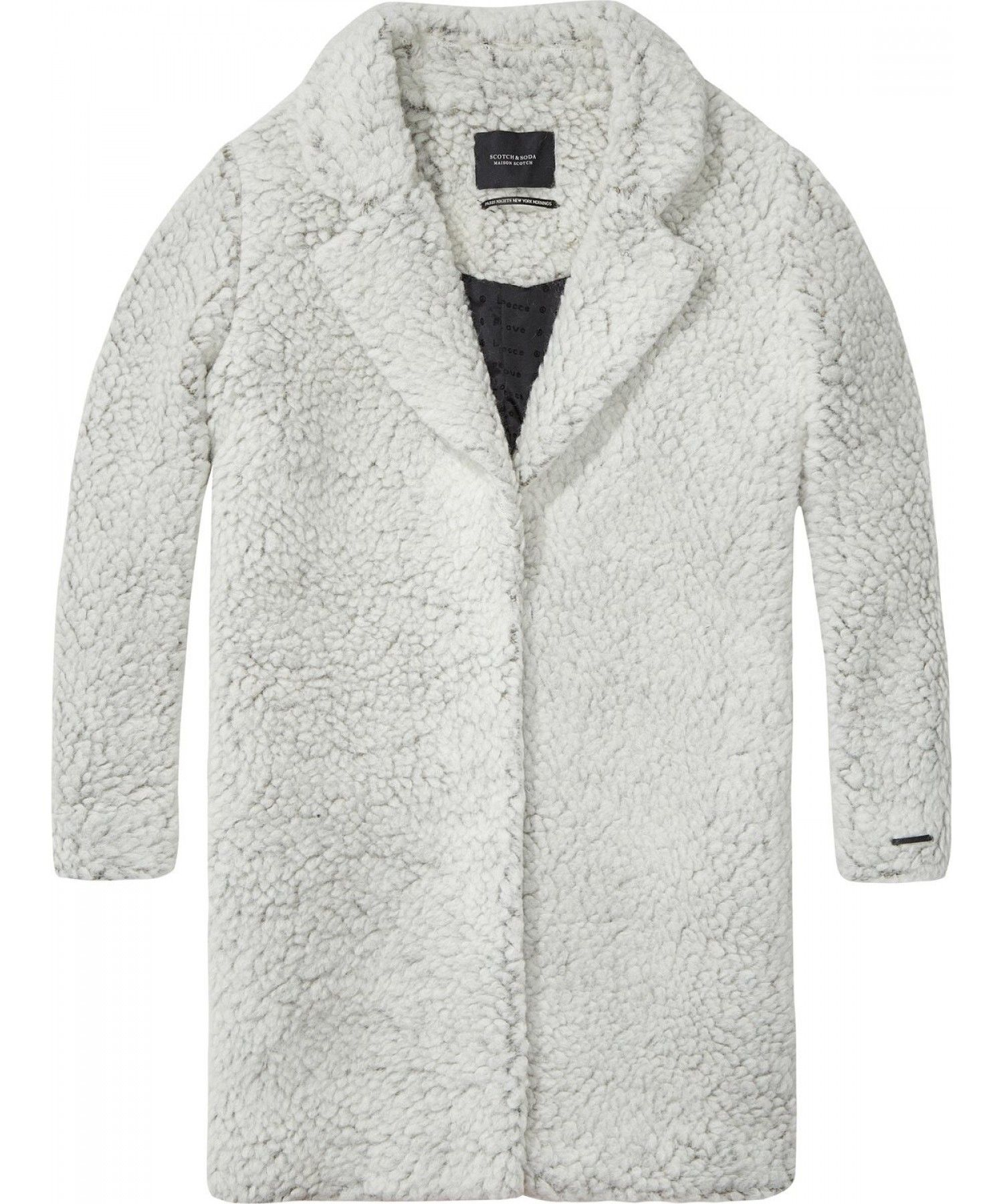 Teddy Cocoon Jas.Maison Scotch Teddy Bear Cocoon Fit Coat At Eb Vloed Lifestyle