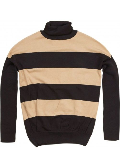 Penn & Ink Knitted Colpullover Stripe