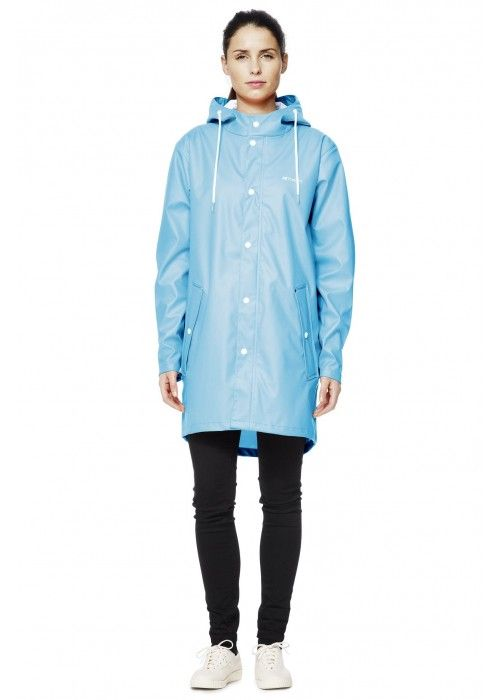 Tretorn Wings Coat Light Blue