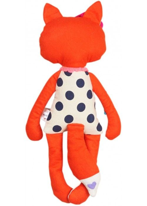Eb & Vloed Fox soft toy girl