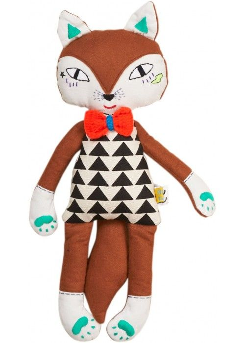 Eb & Vloed Fox soft toy boy