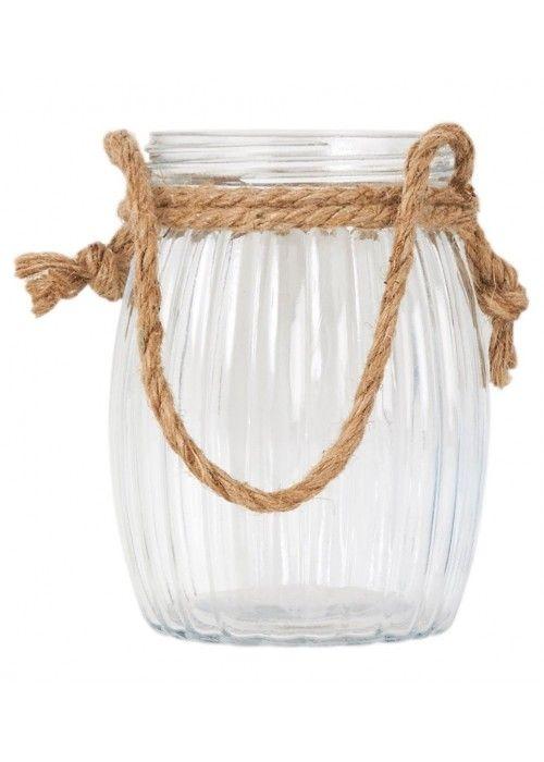 Eb & Vloed Glas met touw