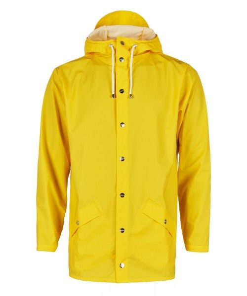 Rains Jacket Yellow
