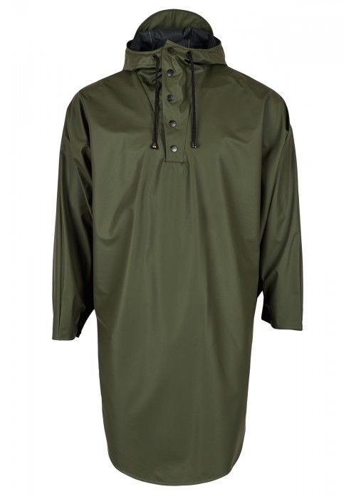 Rains Poncho Green