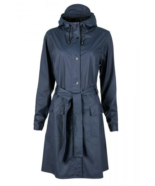 Rains Curve Jacket Blue