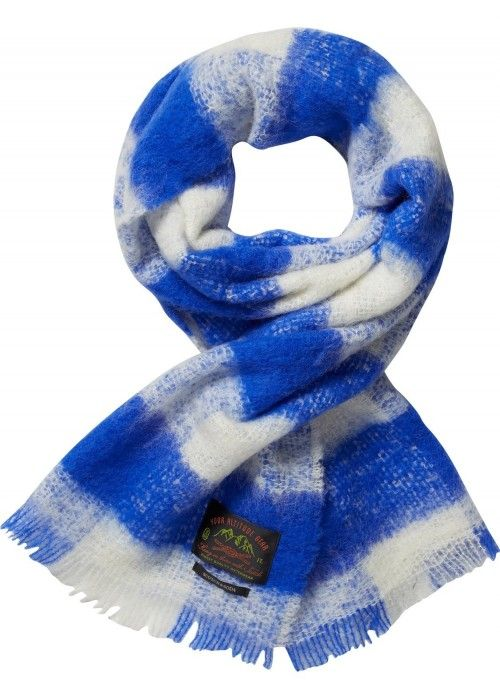 Scotch & Soda Brushed wool woven scarf