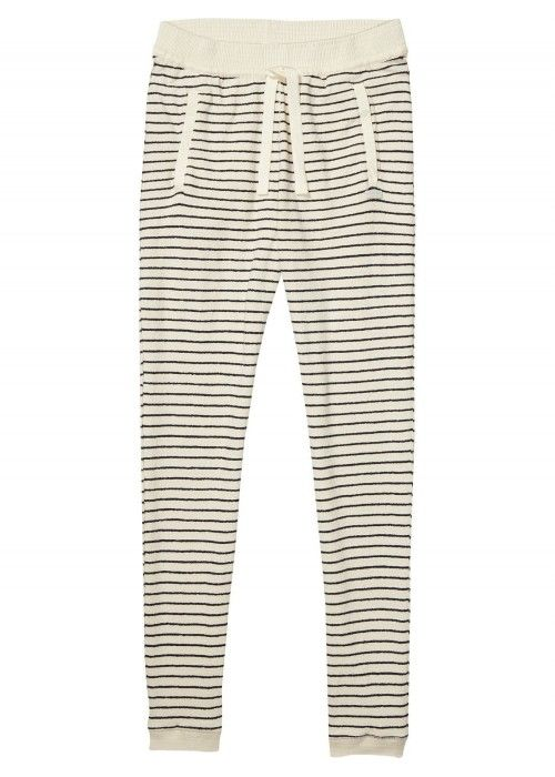 Maison Scotch Home Alone jogger with woven