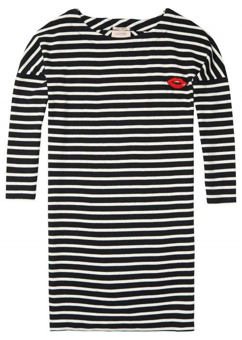Maison Scotch 3/4 Sleeve Sweat Dress