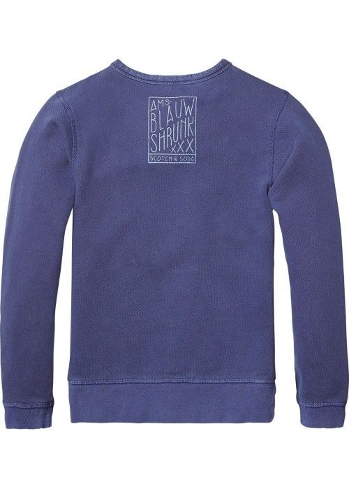 Scotch Shrunk Garment Dye Crewneck Sweat