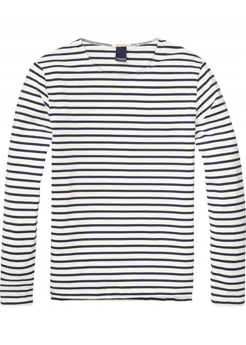 Scotch & Soda Long Sleeve Striped Distellery
