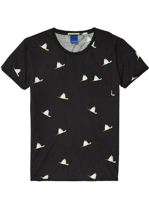 Scotch & Soda All-Over Print Tee
