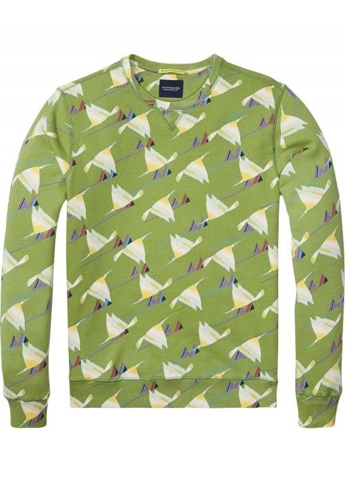 Scotch & Soda All-Over Print Sweat