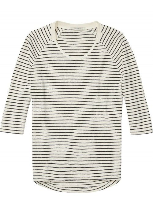Maison Scotch Home Alone loose fitted s/s