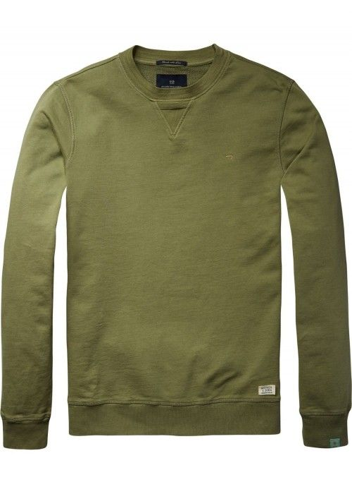 Scotch & Soda Classic garment dyed sweat in