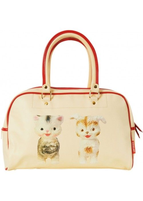 Eb & Vloed Tas Popjes Art Cat and Dog