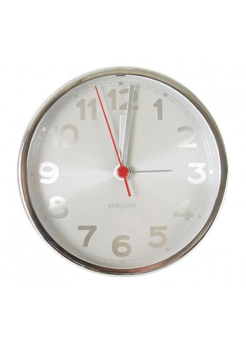 Eb & Vloed Alarm clock white numbers
