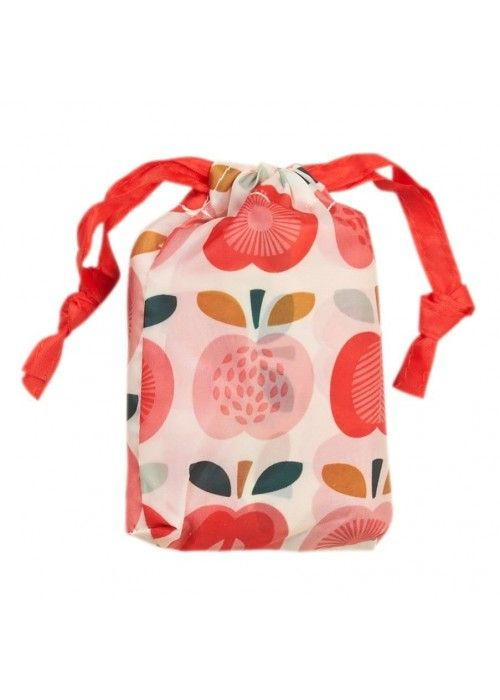 Eb & Vloed Vintage apple foldaway bag