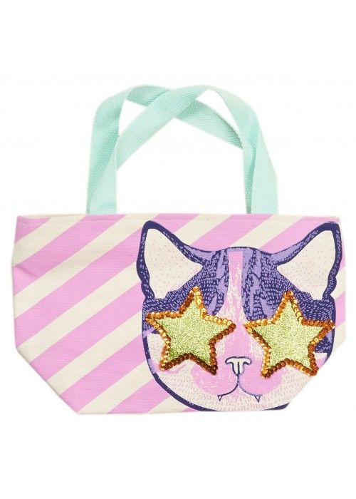 Eb & Vloed Cat Rock&Roll Mini Handbag