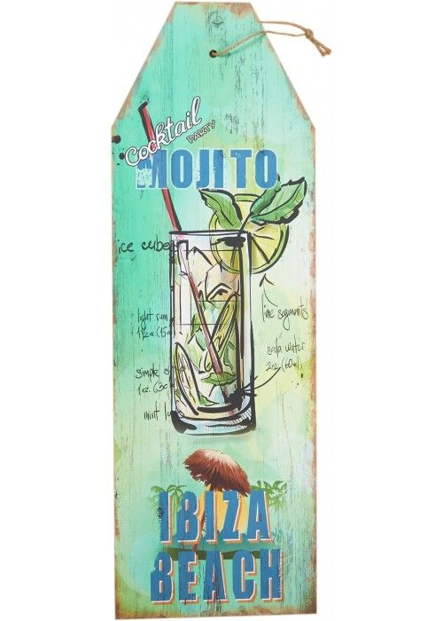 Eb & Vloed ibi sign XXL Mojito