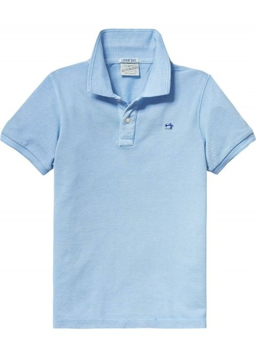 Scotch Shrunk Garment dyed pique polo