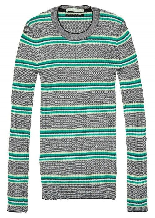 Maison Scotch Slim fit ribbed knit in variou