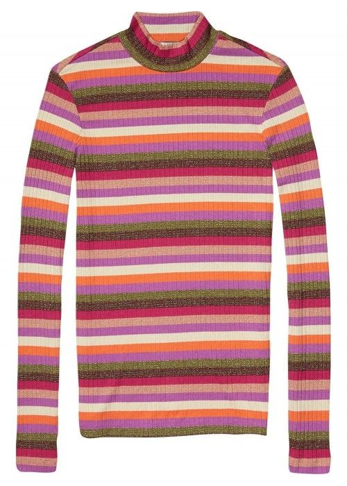 Maison Scotch Longsleeve rib turtle neck
