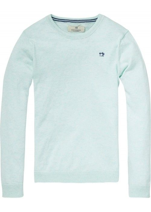 Scotch Shrunk Basic crewneck pull