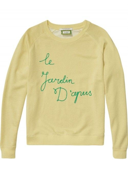 Maison Scotch Longsleeve pullover sweat