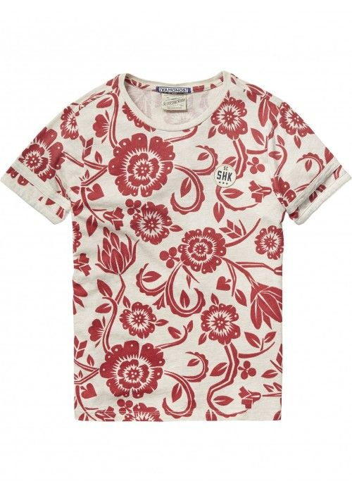 Scotch Shrunk All-over printed tee