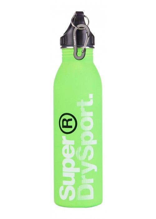 Superdry Steel sports bottle
