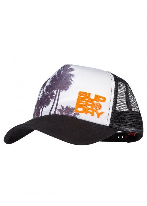 Superdry Palm trucker cap