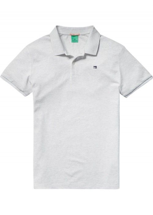 Scotch & Soda Classic polo in pique quality