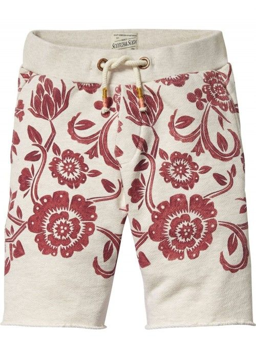 Scotch Shrunk All-over printed sweat shorts