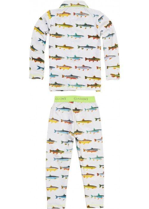 Claesen's Boys Pyjama Fish