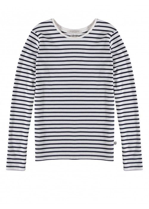 Maison Scotch NOS Signature Breton Stripe
